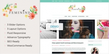 Girly WordPress Theme For Fashion, Lifestyle, Travel and Beauty Bloggers