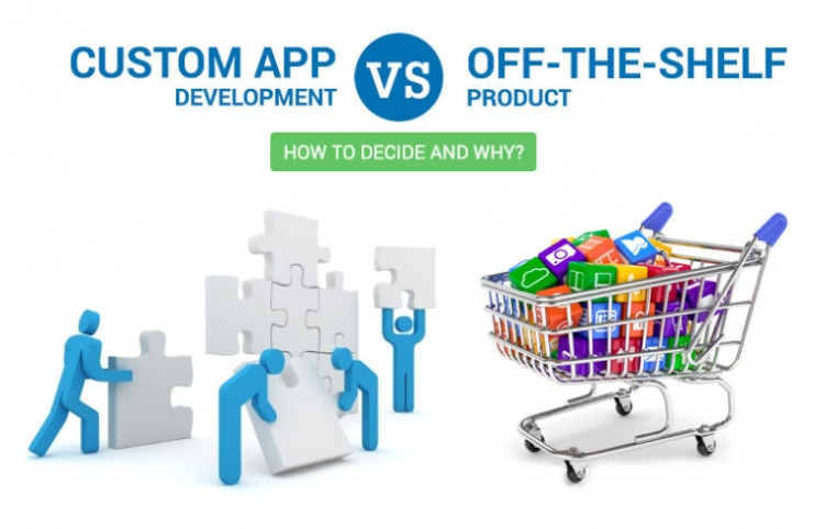 CUSTOM APP DEVELOPMENT VS OFF-THE-SHELF PRODUCT: HOW TO DECIDE AND WHY?