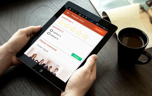Clik Survey- An app for survey report -