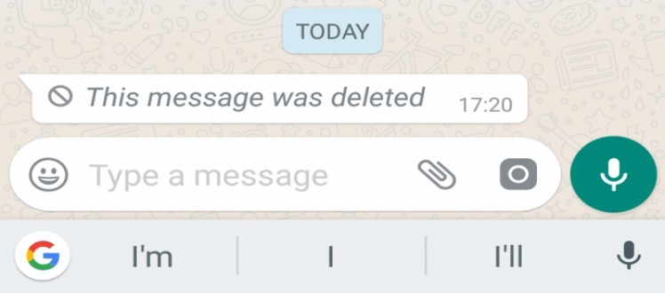 How to read deleted message? WhatsApp trick