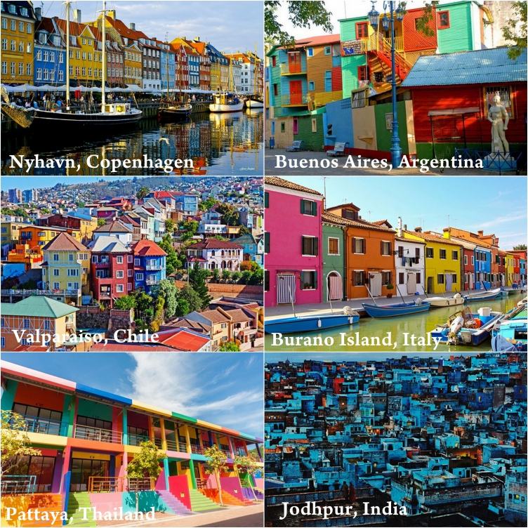 Top 6 most colourful cities in the world