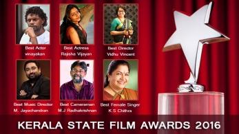 Kerala State Film Awards 2016